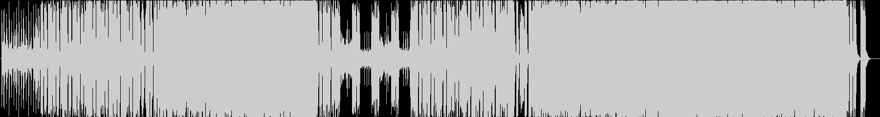 ヘヴィでクールなメタルBGMの未再生の波形
