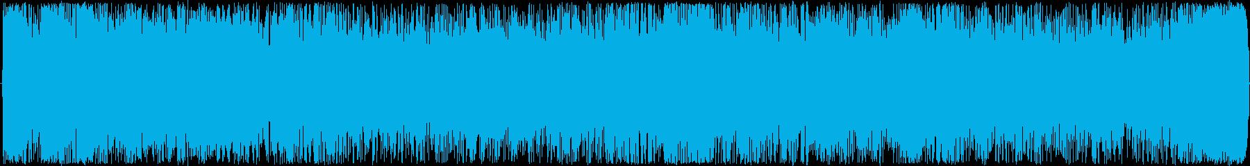 リズミカルながらクールなイメージのBG…の再生済みの波形