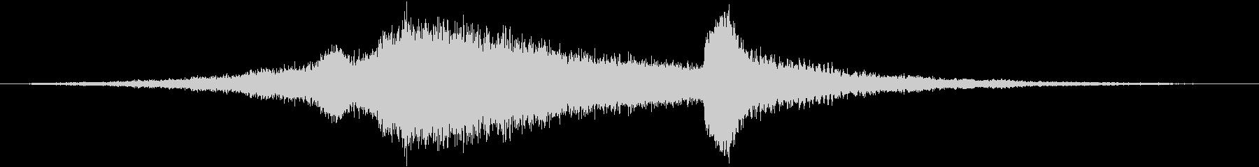 【ホラー】 サウンドスケープ 08の未再生の波形