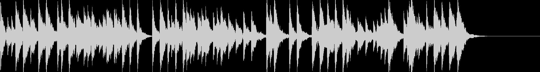 「スカボローフェア」オルゴールbpm96の未再生の波形