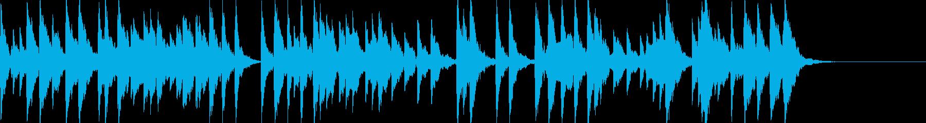 「スカボローフェア」オルゴールbpm96の再生済みの波形