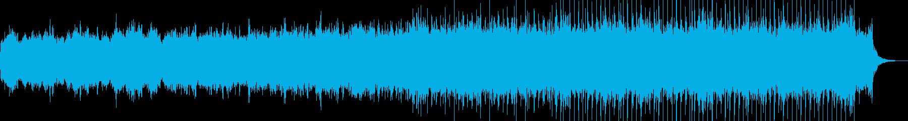 オーロラや宇宙映像に合うBGMです。の再生済みの波形