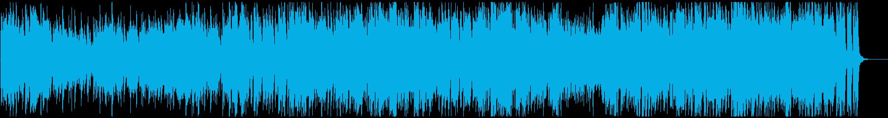 爽やかポップ、70年代系 フルート生演奏の再生済みの波形