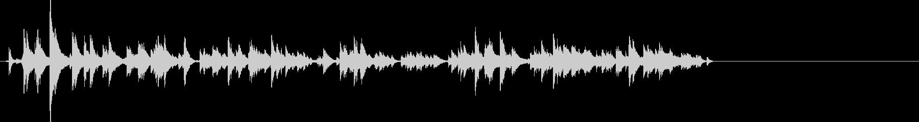カララーン…鈴の音色っぽい効果音の未再生の波形