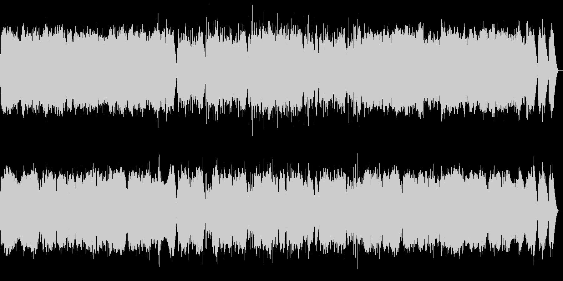シューベルト 楽興の時第4番 オルゴールの未再生の波形