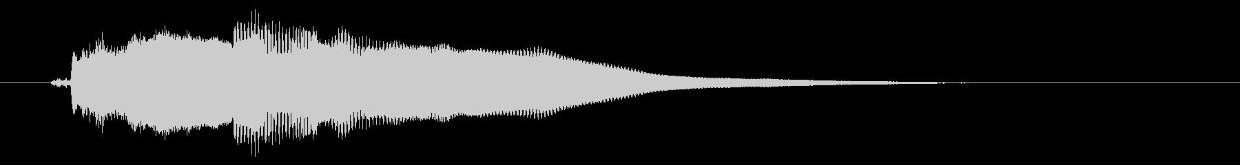 改札 アラーム01-3(音色1 フラップの未再生の波形