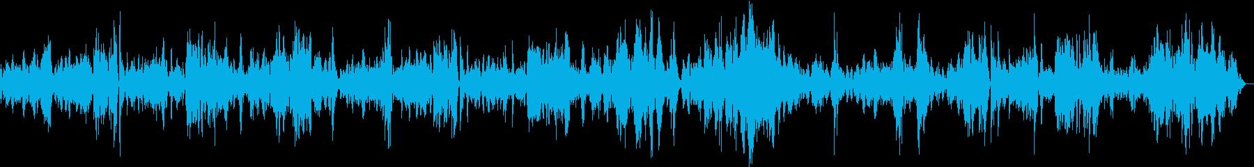 モーツァルトピアノソナタK333第1楽章の再生済みの波形