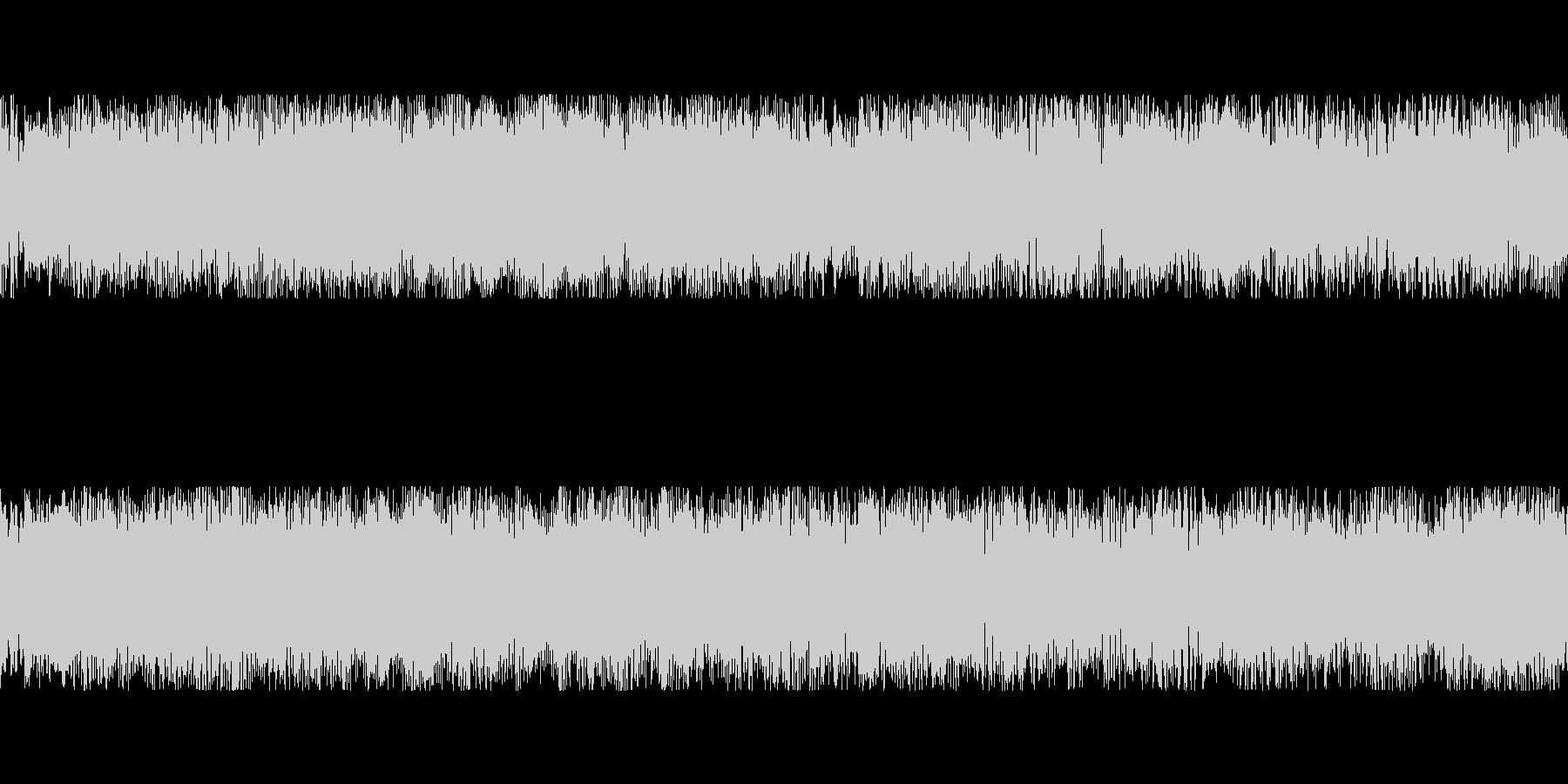 短ループ・哀愁・幻想・神秘なシンセの未再生の波形