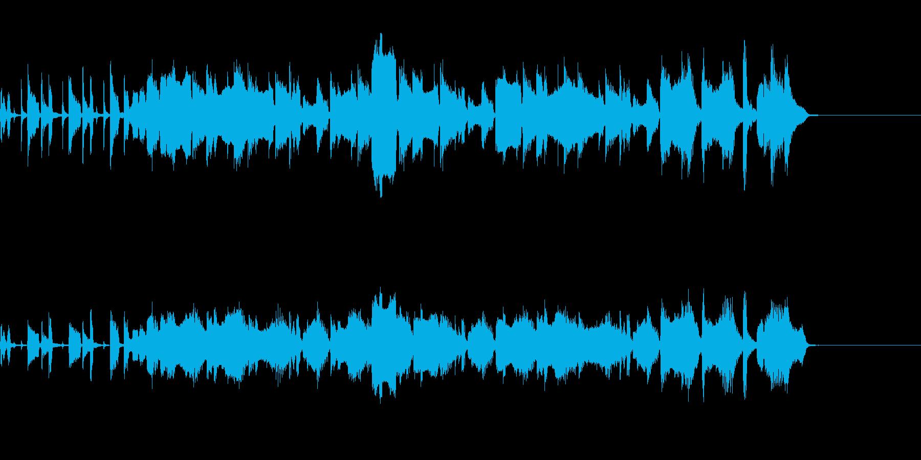 ボサノヴァ風~花のワルツ~の再生済みの波形
