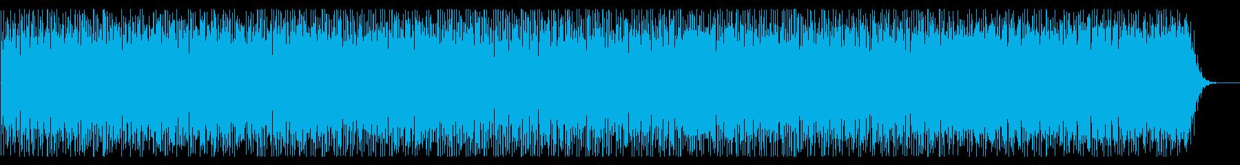 クラシックかつミステリーな雰囲気のBGMの再生済みの波形