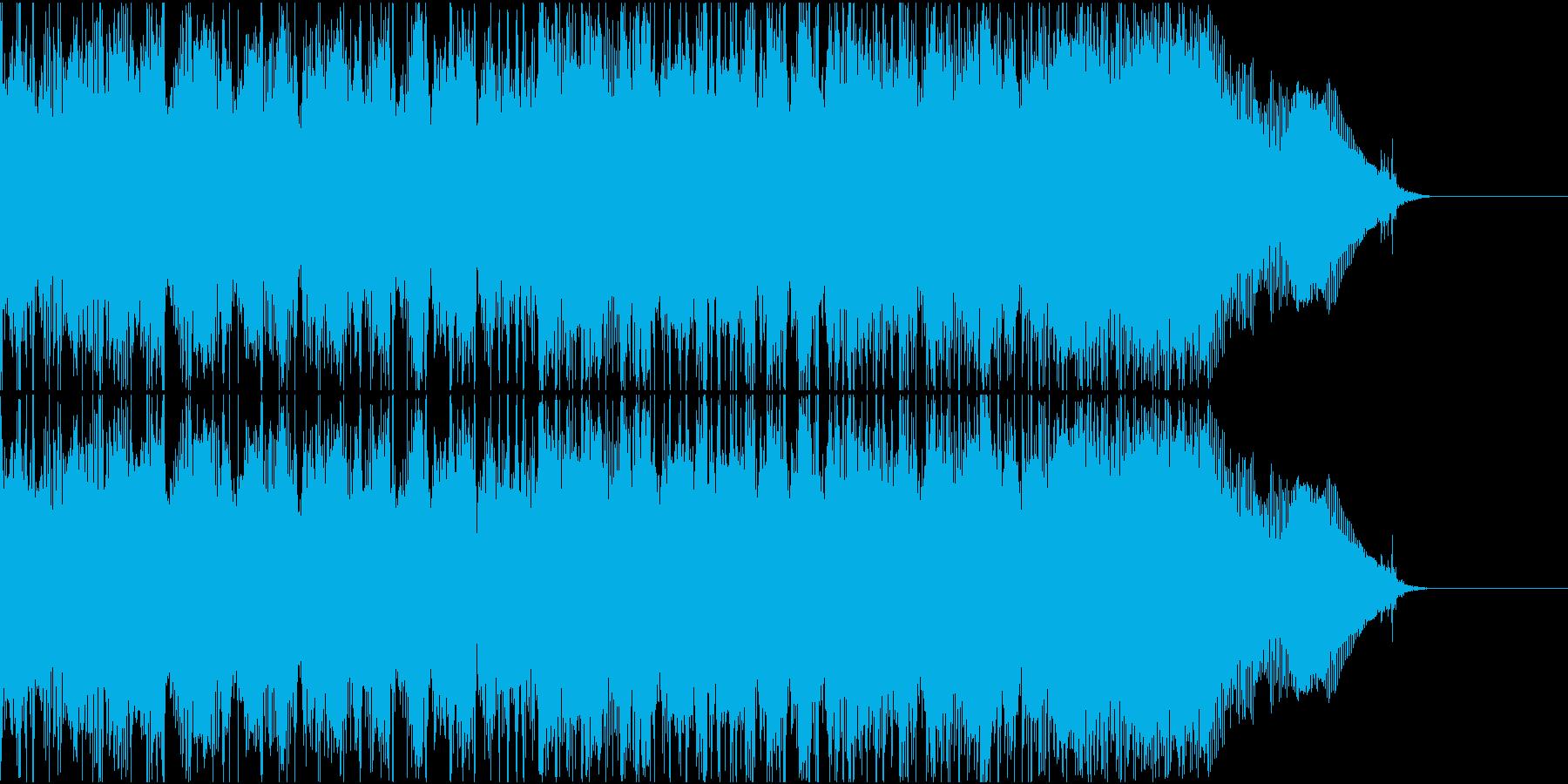 アメリカンミクスチャーロックなギターリフの再生済みの波形