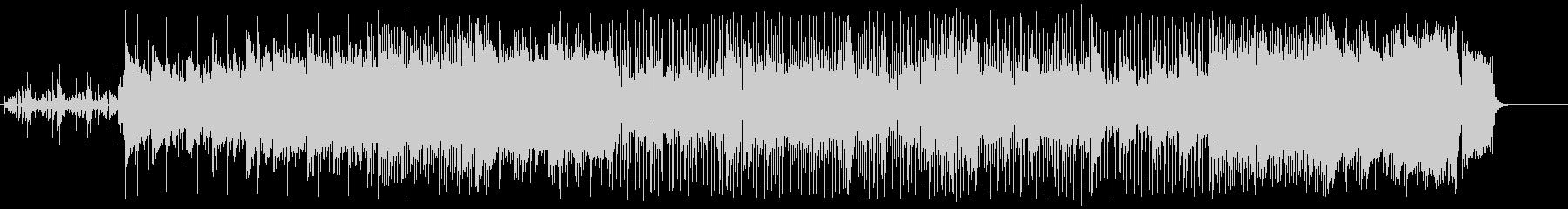 怪しいマイナー・テクノ/ポップの未再生の波形