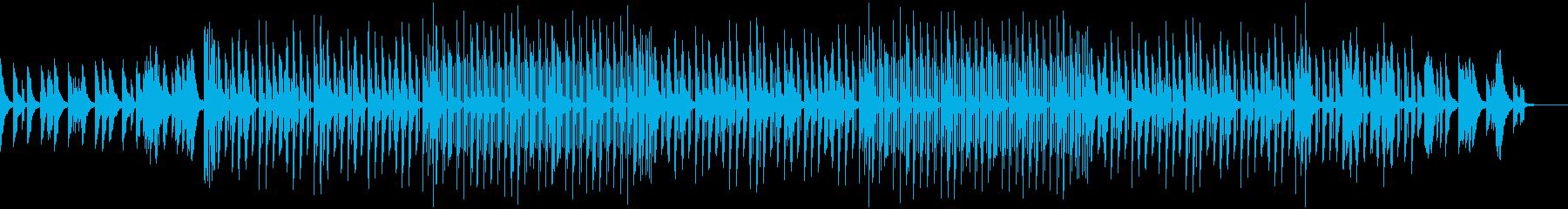 切なく落ち着くLo-FiHiphopの再生済みの波形