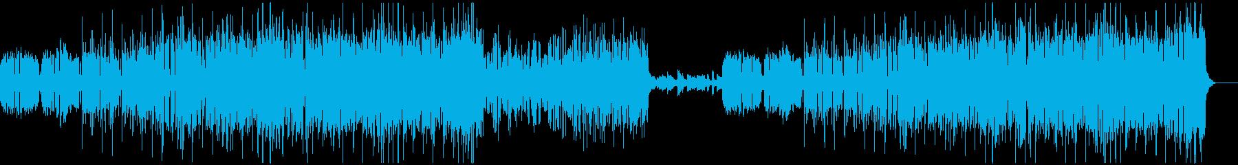 陽気な音楽家の集いの再生済みの波形