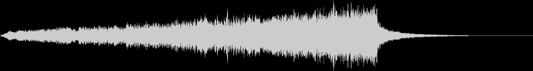 CINEMATIC RISER_28の未再生の波形