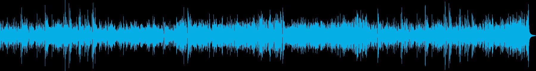 ポップなピアノジャズトリオの再生済みの波形