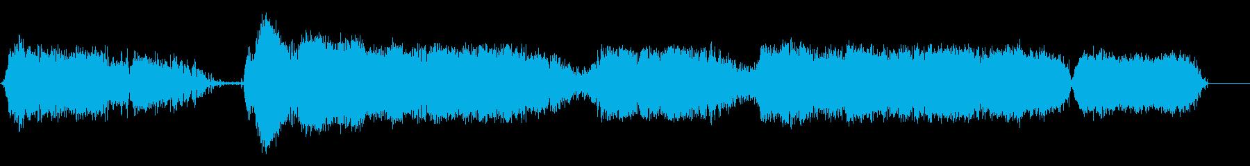 マササウガ・ラトラー:ガラガラ、動...の再生済みの波形