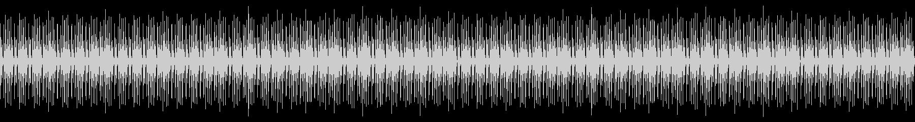 シンセドラムループの未再生の波形
