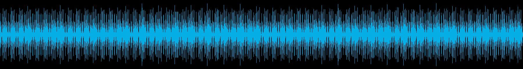 シンセドラムループの再生済みの波形