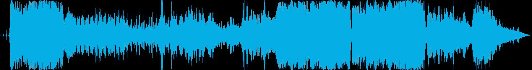 ノイズ作品です。自然音が主体になってい…の再生済みの波形