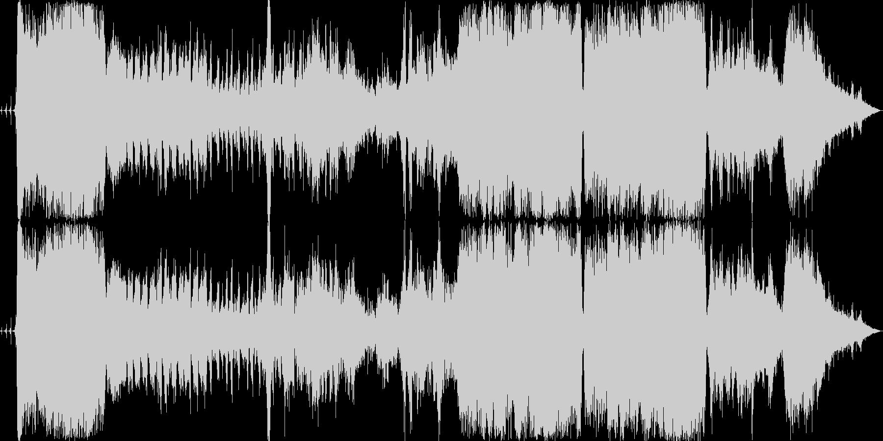 ノイズ作品です。自然音が主体になってい…の未再生の波形