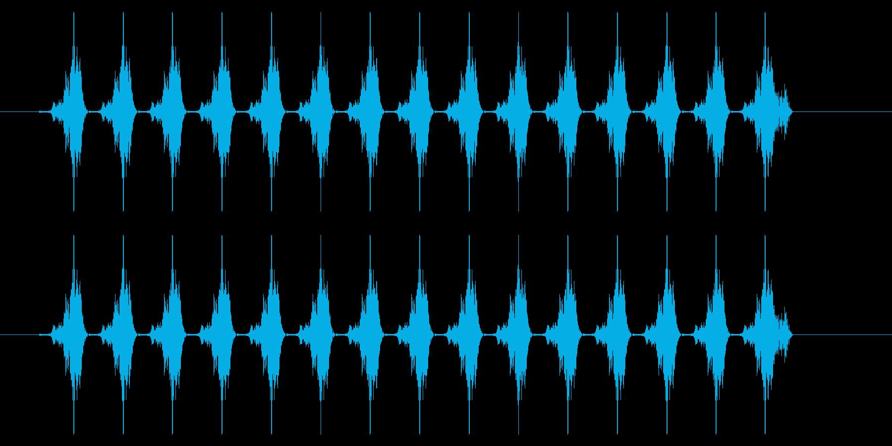 SNES-アクション01-18(メッセーの再生済みの波形