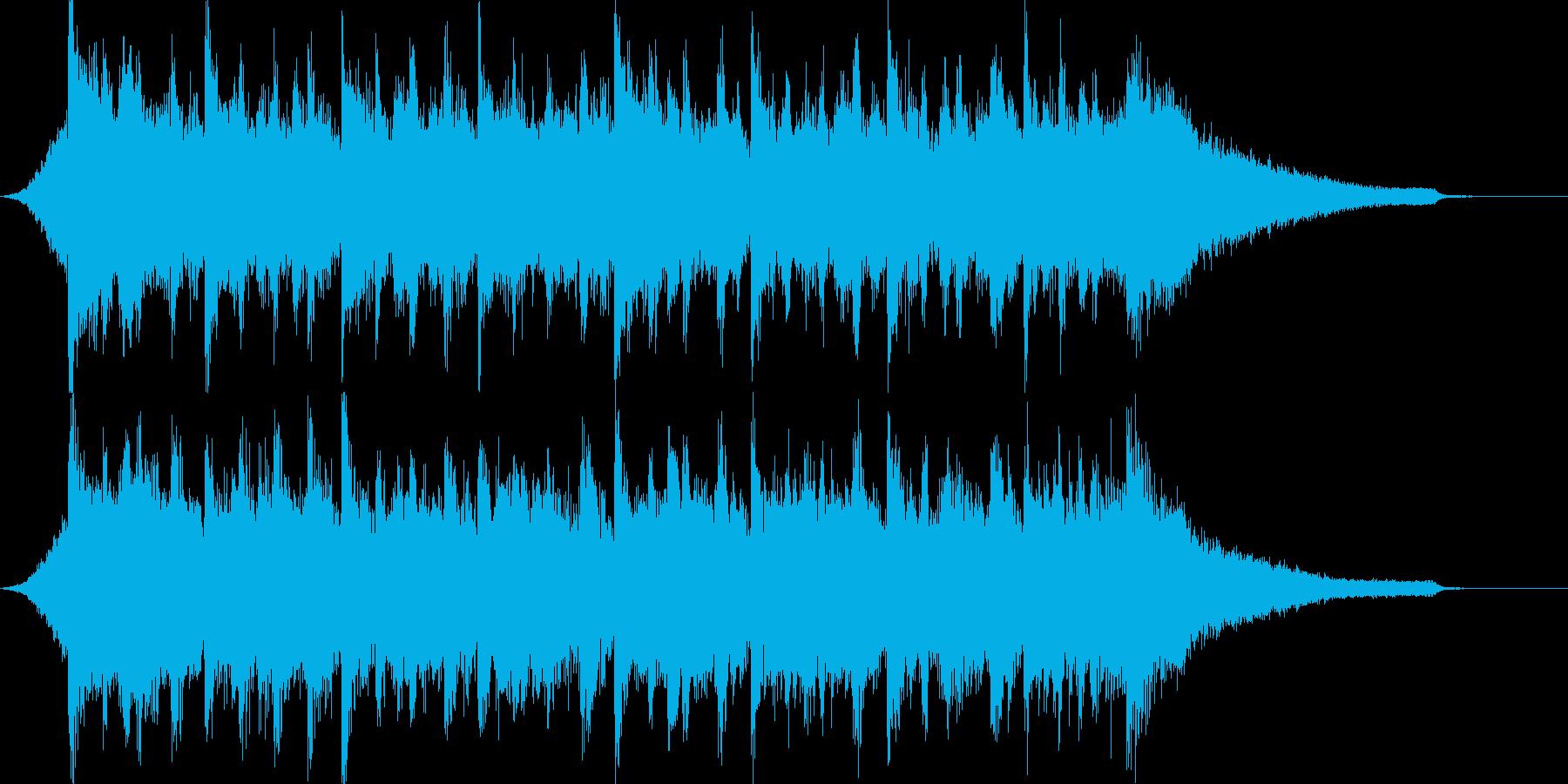 企業VPや映像46、壮大、オーケストラcの再生済みの波形
