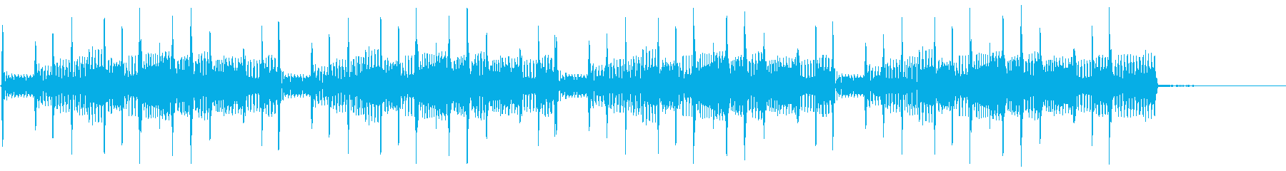 エレクトリックベース:スラップアク...の再生済みの波形