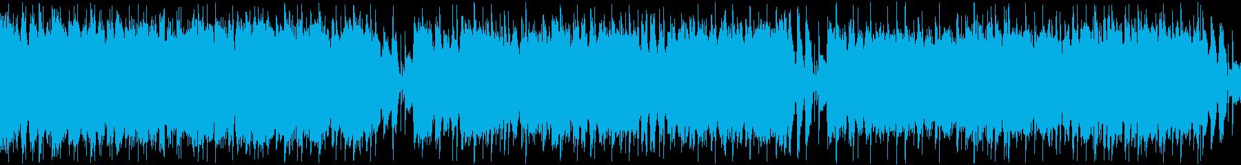 【ループBGM】ブルースロックで踊ろう!の再生済みの波形