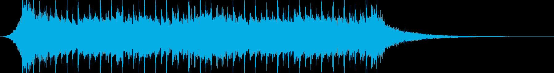企業VP系35、爽やかギター4つ打ちcの再生済みの波形