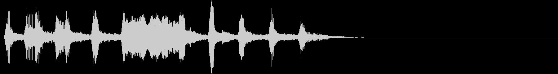 ハロウィン モンスター 不気味ジングル1の未再生の波形