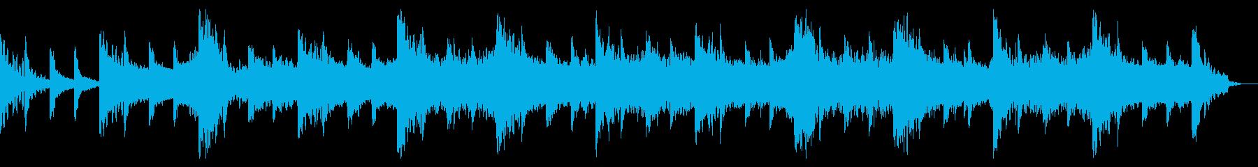 神秘的なIDMテクスチャの再生済みの波形