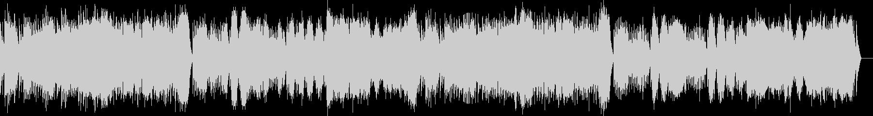 第1曲 小序曲(オルゴール)の未再生の波形