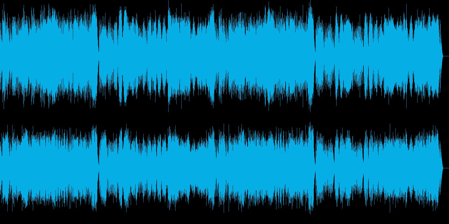 第1曲 小序曲(オルゴール)の再生済みの波形