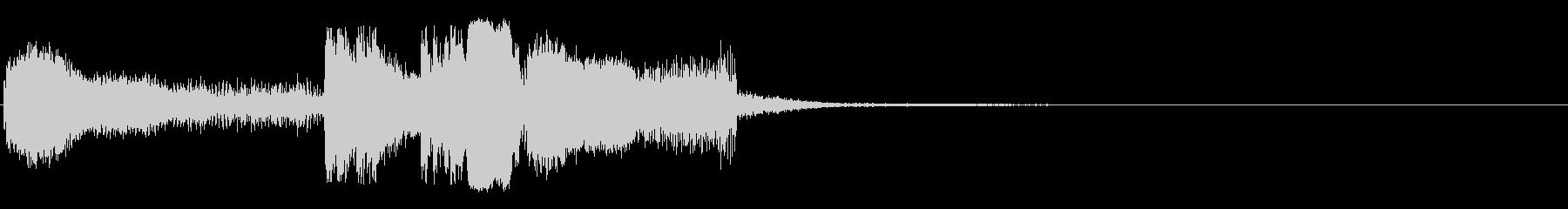 放電1 (ビリビリビリ…バシューンバリ…の未再生の波形