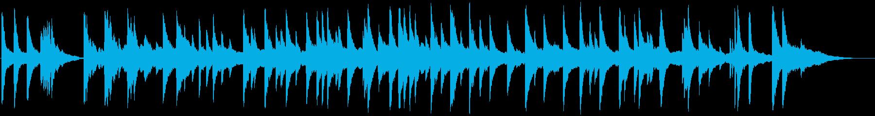 ゆったりとしたジャズ風イージーリスニングの再生済みの波形