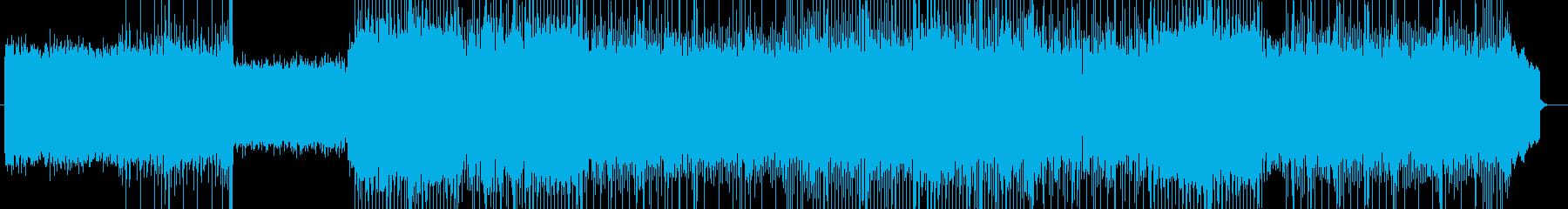 「HR/HM」「DARK」BGM125の再生済みの波形