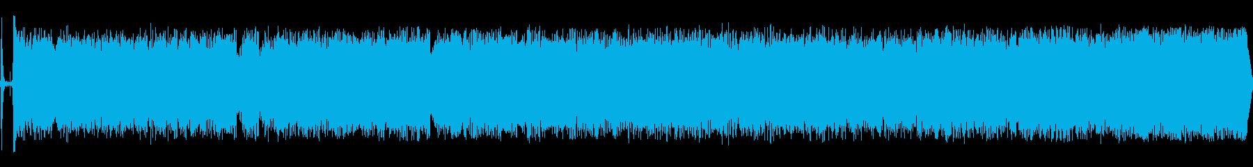 カッパチーノの鳴き声の再生済みの波形