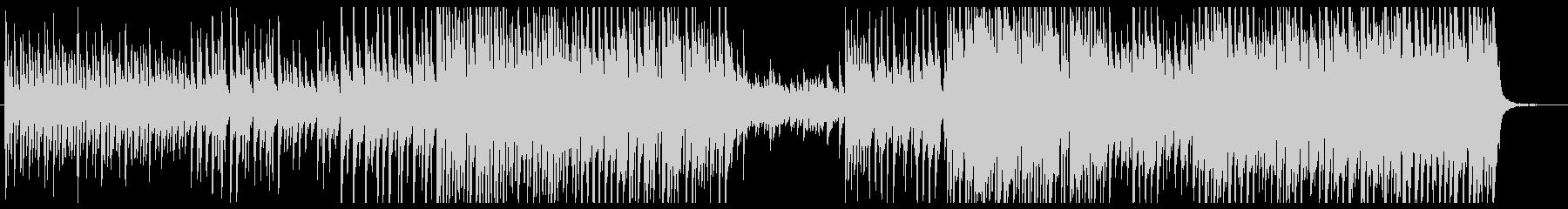 ピアノアコースティック少し電子音切ないの未再生の波形