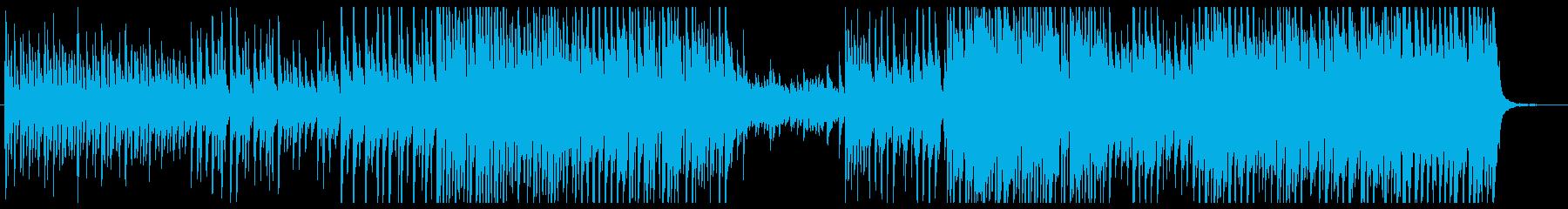 ピアノアコースティック少し電子音切ないの再生済みの波形