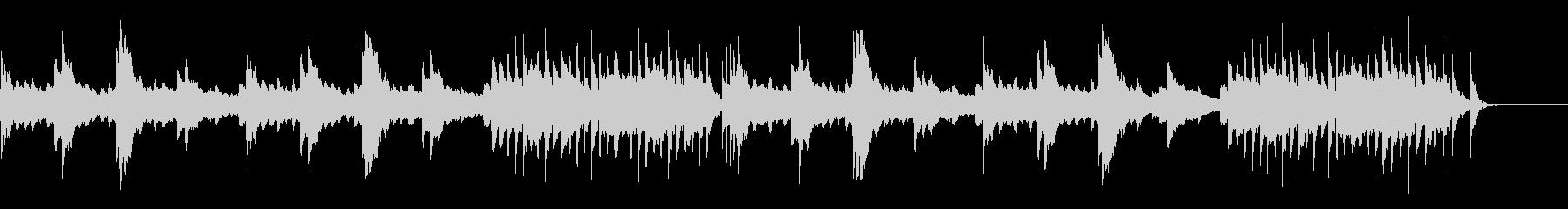琴を使った和風なイージーリスニングです。の未再生の波形