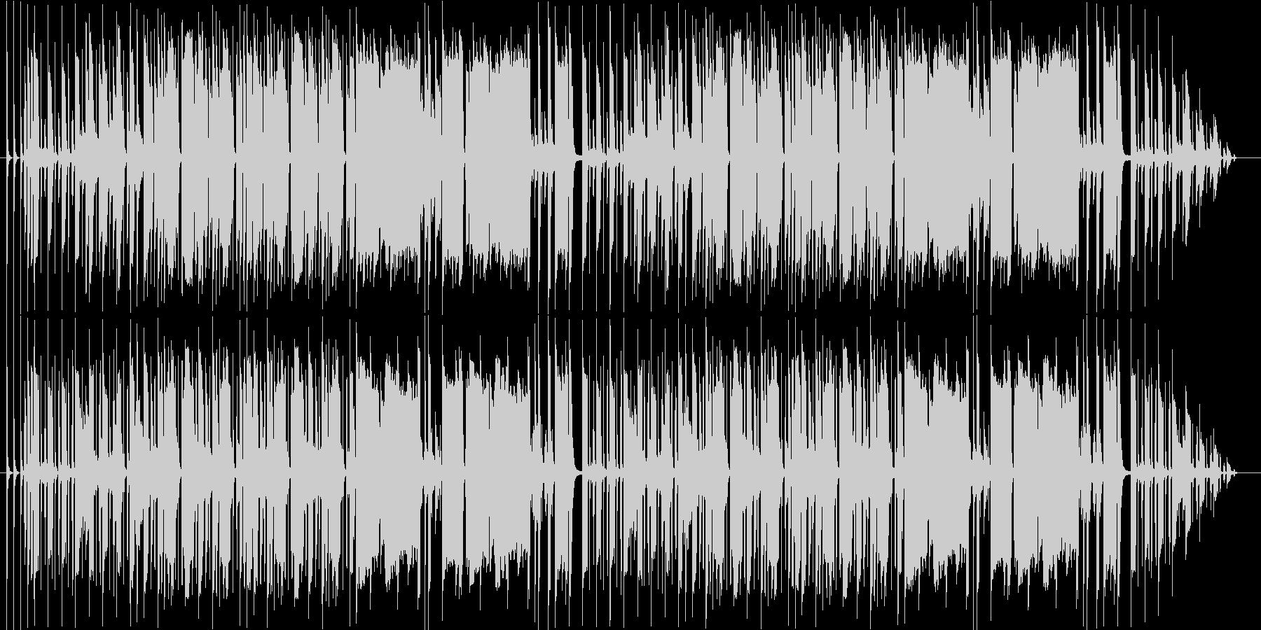 笛とアコーディオンのゆるいBGMの未再生の波形