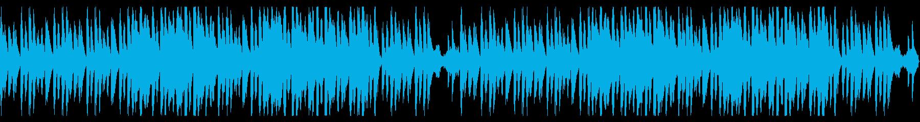 スタイリッシュな和風インストの再生済みの波形