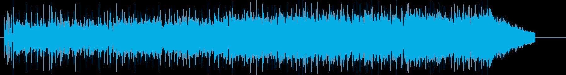 軽快実直な8ビート・ロックの再生済みの波形
