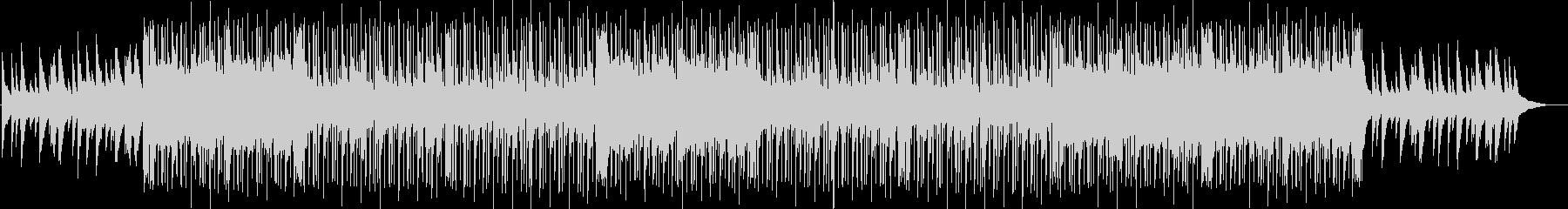 切ないピアノメインのチルヒップホップの未再生の波形