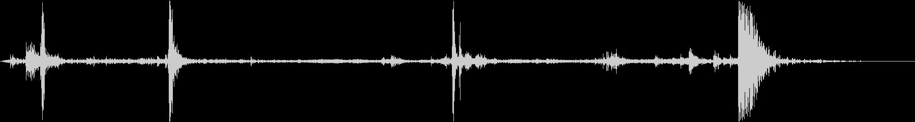 レンジローバーSUV:EXTからI...の未再生の波形