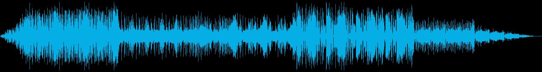 インダストリアルなグライムの再生済みの波形