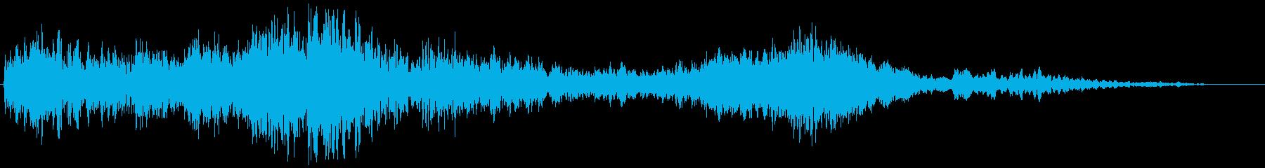 【ホラー演出】敵の住処の再生済みの波形