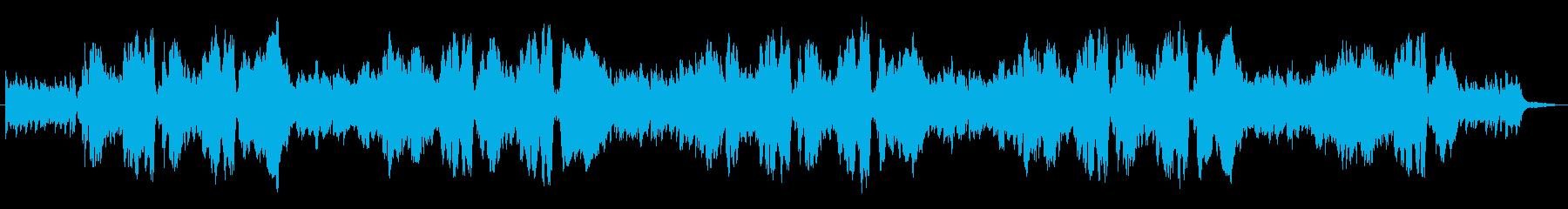 生演奏リコーダーでモーニングルーティンの再生済みの波形