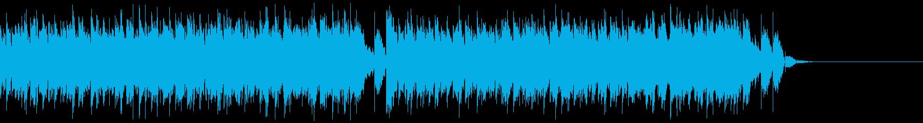 壮大で重厚なトランス -CMジングルの再生済みの波形